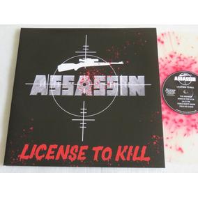 Assassin License To Kill Lp Iron Maiden Metallica Slayer Sod