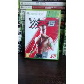 Wwe W 2k 15 Xbox 360 Original Mídia Física, Frete R$ 12.