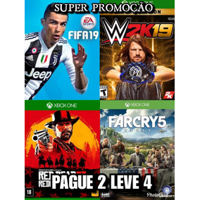 Fifa 19 + Wwe2k19 + Ufc Deluxe Editions + Far Cry 5 + Brinde