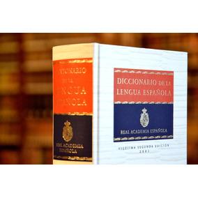Diccionario De La Lengua Española Real Academia Libro