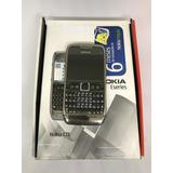 Nokia E71 Preto - Só Funciona Vivo - 3mp Symbian - Usado