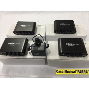 Amplificador De Audifonos De 4 Canales Para 4 Audifonos
