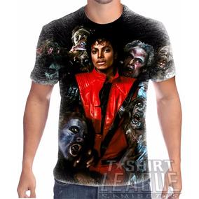 Camiseta Personalizada Michael Jackson Thriller 02 6a72ea5fef77a