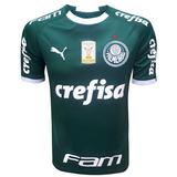 Camisa Do Palmeiras 2019 Oficial - Com Patch E Patrocínio
