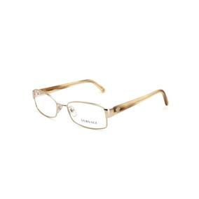 Armação De Óculos De Grau Versace Feminino - Óculos Dourado no ... 76e458de7e