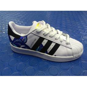 be32b75e538 Adidas Superstar Floral en Mercado Libre México