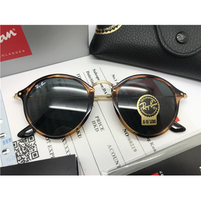 Rayban Round Fleck De Sol Ray Ban - Óculos no Mercado Livre Brasil c073715bf2