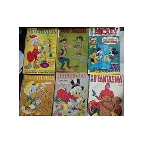 300 Gibi Antigos Disney Coleção Fantasma Marvel Dc Ebal Trap
