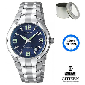 Reloj Casio Edifice Ef106 Hombre Acero *watchsalas*