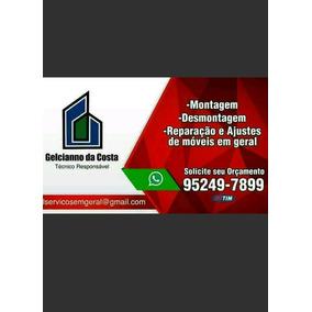 Uniforme Para Montador De Móveis - Casa 0d3d1280240de
