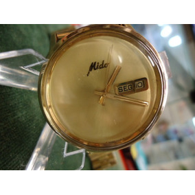 8284478cfa2 Relogio Mido Ouro Antigo - Relógios Antigos e de Coleção no Mercado ...