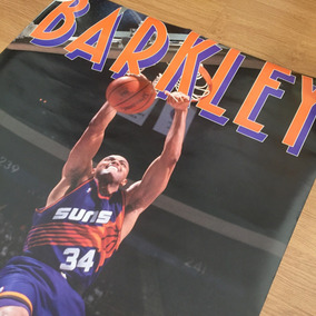 Pôster Vintage - Nba - Charles Barkley Phoenix Suns - 1993