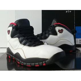 Jordan 10 Varsity Red (28cm) Chicago Playoffs Retro Air Zoom