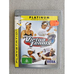 Virtua Tennis 3 - Original Ps3 Mídia Física