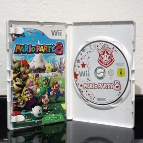 Jogo Mario Party 8 Wii Original!europeu!!!!encarte Compl!