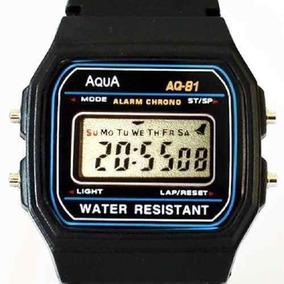 Relogio Aqua Aq-91 Retrô Aprova Dagua Oferta C1 Frete Grátis