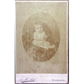 Papf Fotografia Antiga Cabinet Criança Morta Petrópolis 1880