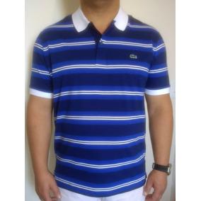 Camisa Polo Lacoste Listrada Homem - Pólos Manga Curta Masculinas no ... f0d3b18015
