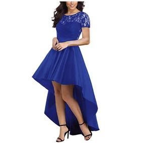 2e7920d20 Vestido De Graduacion Kinder Ninas Azul Rey Vestidos Largos ...