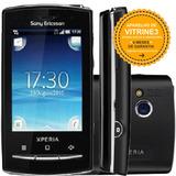 Sony Xperia X10 Mini Pro Single 5mp Mp3 Fm Preto Vitrine 3