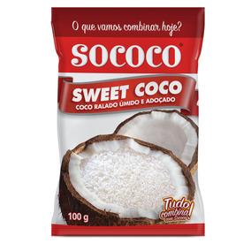 Sweet Coco Sococo 100g Kit Com 24 Unidades