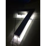 Números Residenciales Exterior 60cm Acero Inox 3d K