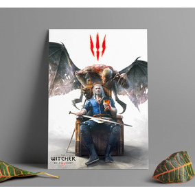 Poster Game The Witcher 3 Wild Hunt Poster Gamer A3