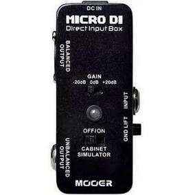 Pedal Mooer Micro Di Direct Input Box Mdi1