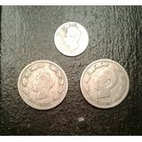 Lote Monedas Ecuador 1889 1937 1959