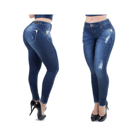 Calça Cigarret Setfor Jeans Modela Bumbum Bojo Removível Pit
