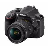 Kit Cámara Reflex Nikon D3400 + Lente Nikkon 18-55mm Y Funda
