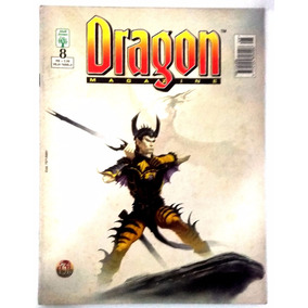 Dragon Magazine 8 - Revista Rara De Rpg.