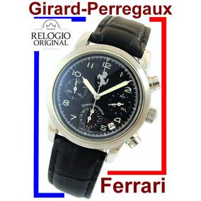 Girard Perregaux Ferrari Cronógrafo 57 Rubis 8020 Autêntico!