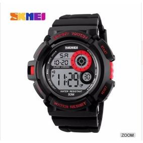 Reloj Quarzo Skmei 1222 Rojo Sumergible