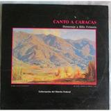 Homenaje A Billo Frometa Canto A Caracas Vinilo 2 L P