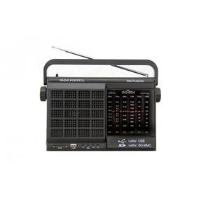 Rádio Portátil Motobras Rm-pu32ac - Fm/am, 6 Faixas, Usb/s