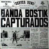 Banda Bostik Capturados Lp Doble Rock Urbano 1ra Edicion 89