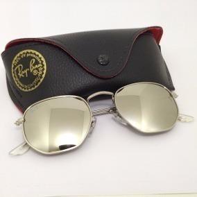 Oculos Cinza Claro Hexagonal - Óculos De Sol no Mercado Livre Brasil b345dab38e