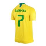 Camisa Garrincha Brasil Copa Mundo 18 Original Frete Gratis 8a2214f9ccfb0