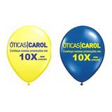 500 Baloes N. 9 Personalizados (bexigas) - Envio Imediato