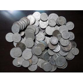 Lote 130 Moedas Antigas - Niquel E Cupro-niquel - No Estado