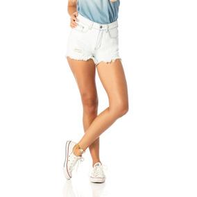 Shorts Feminino Setentinha Claro Denim Zero-dz6202