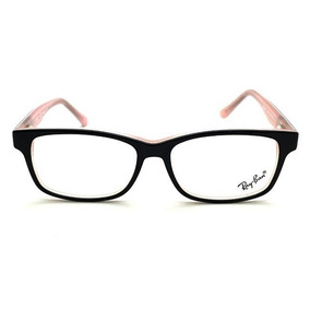 Armação Oculos Tng Preto E Branco Hastes Em Metal - Óculos Preto no ... e0adb045d9