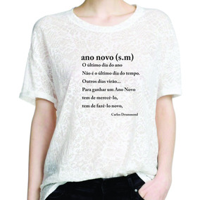 Camisetas Em Malha Devore Branca - Camisetas Manga Curta no Mercado ... e387954fdb5