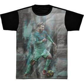 51d4219c1a Camisa Camiseta Preta Lionel Messi Jogador 10 03 · R  59 95