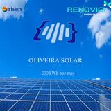 Kit Solar - 200 Kwh On Grid - Com Suporte E Frete Grátis!