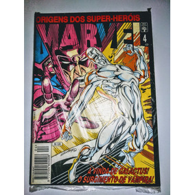 Hq - Marvel - A Origem Dos Super Heróis Número 4