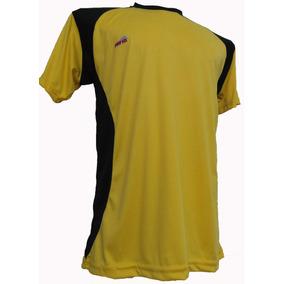 debc94bc214ff Camiseta Futbol Verde Amarilla - Camisetas de Adultos Amarillo en ...
