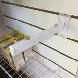 Mensulas De 25 Cm Estantes Repisas Panel Ranurado Blanco f218d4a1d406