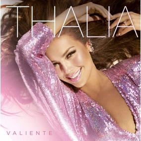 Cd Thalía Valiente - Original Lacrado - Pronta Entrega